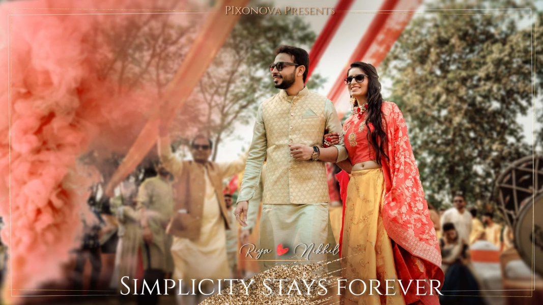 Riya Nikhil Wedding Trailer Youtube Thumbnailjpg